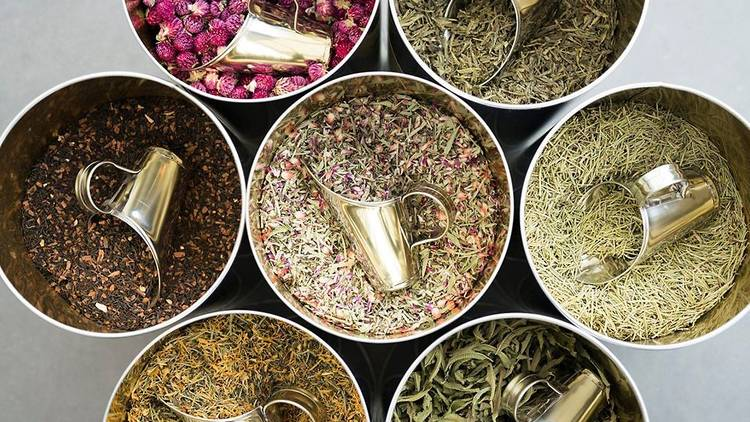 Cantinho das Aromáticas, chás, infusões, ervas aromáticas