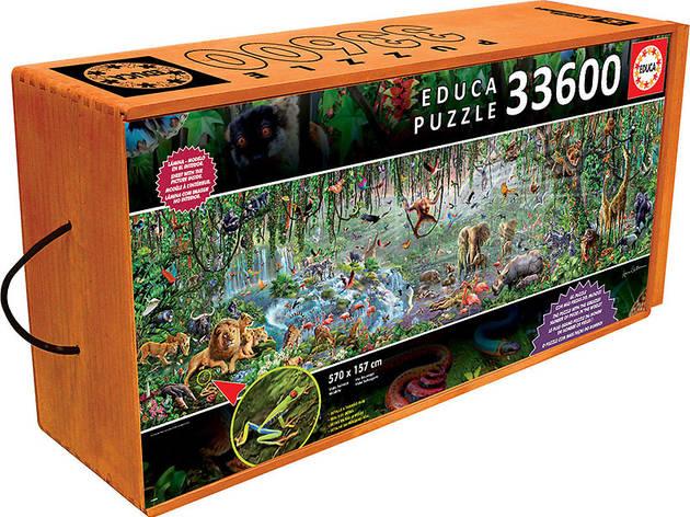 puzzle vida selvagem