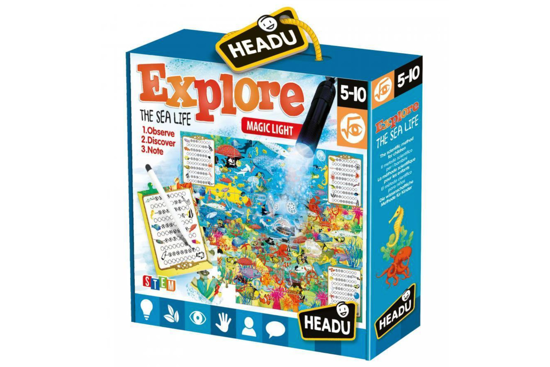 Puzzle explore the sea life