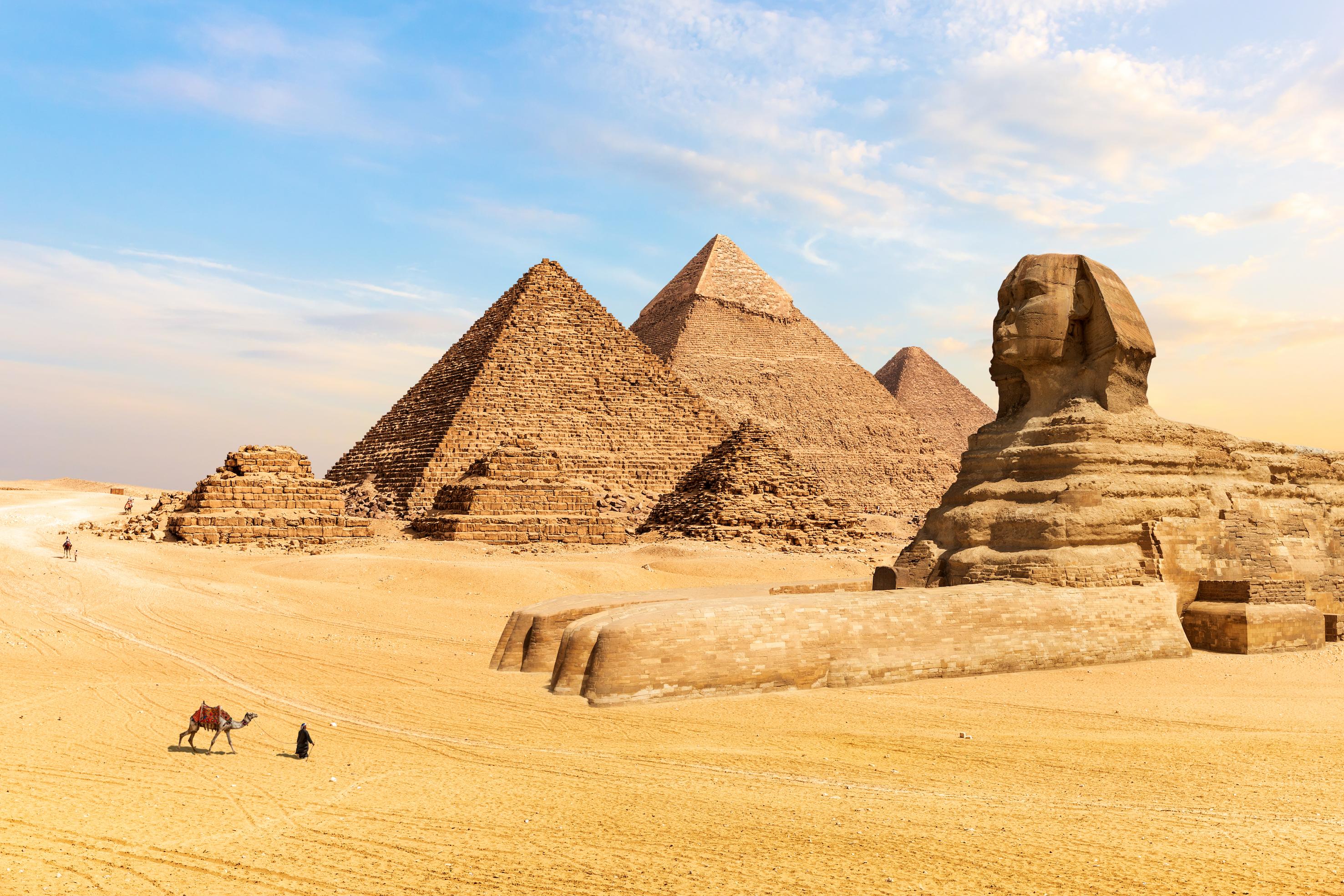 El Cairo Egipto pirámides Giza