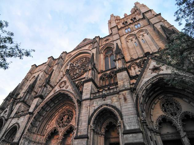 Cathedral of St. John the Divine is being turned into a temporary hospital