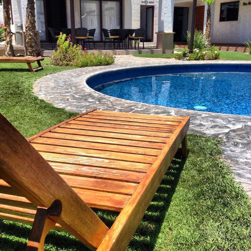 Alberca del hotel Hotel Seven Crown Centro en La Paz Baja California Sur