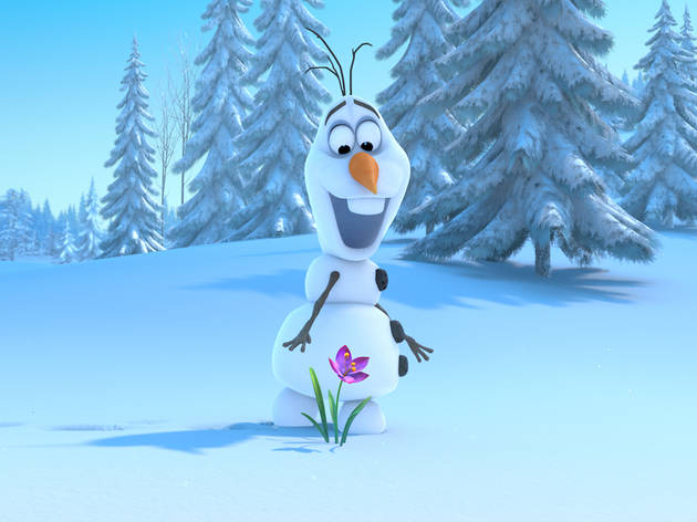 Disney launches a new website and it features an adorable series with Olaf!