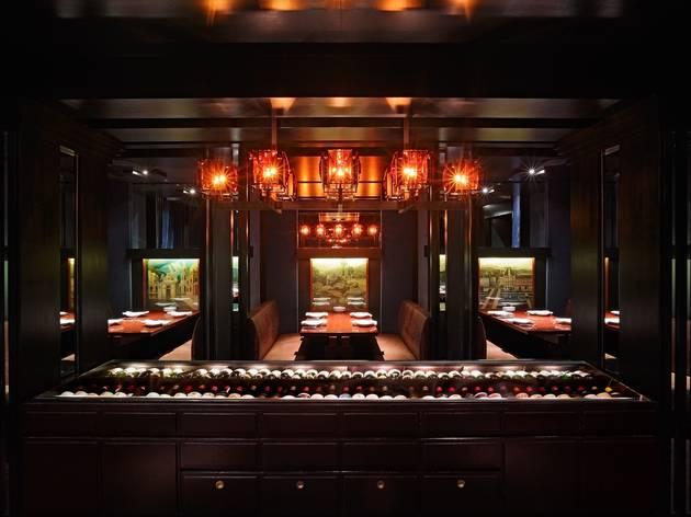 Grand Hyatt Steakhouse interior