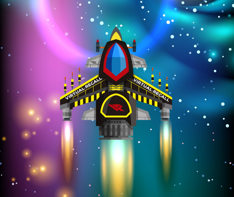 Imagen de una nave espacial
