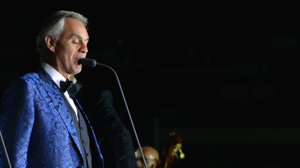Andrea Bocelli is performing an Easter concert from Milan