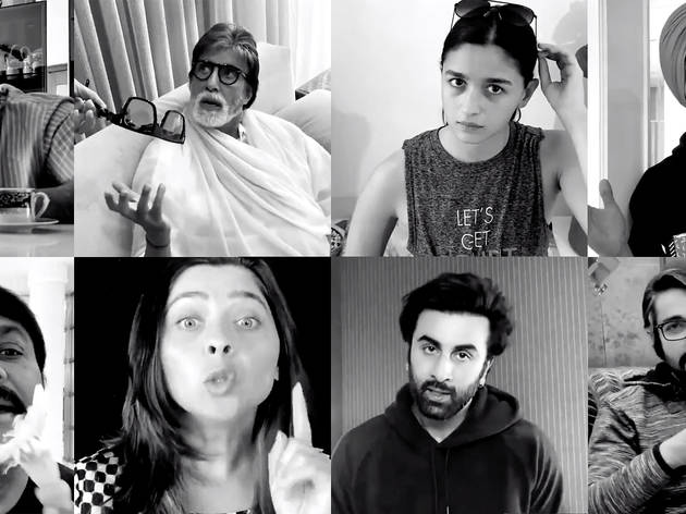 See Bollywood's biggest stars team up for a PSA film