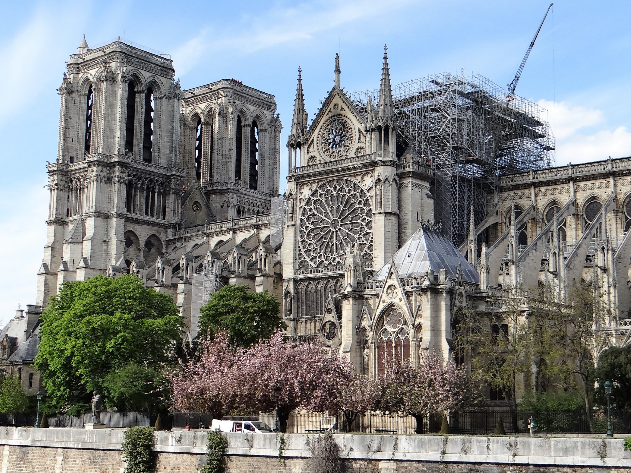 Notre-Dame is live-streaming a service this Easter