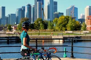 Biking Montreal