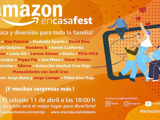 #AmazonEnCasaFest