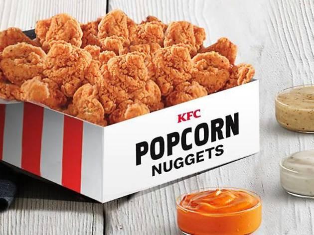 KFC, fried chicken, popcorn chicken, chicken nuggets, chicken