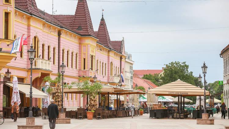 Vinkovci town in Croatia