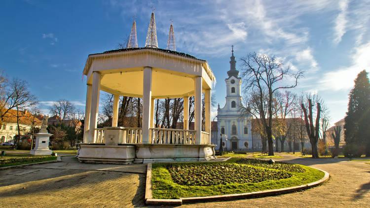 Town of Bjelovar central park