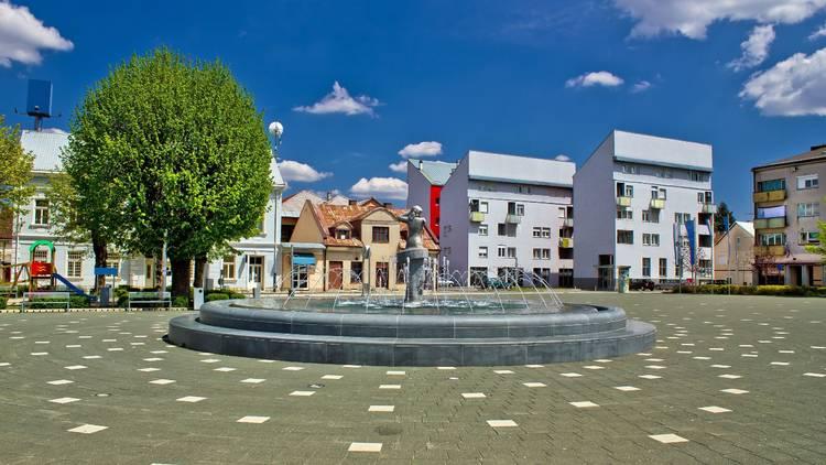 In Croatia's Lika region, the town of Gospić is home to the Stjepan Radić square and 'Vila Velebita' ('Fairy of Velebit') statue