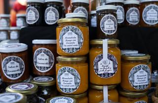 mermelada casera en mercado el 100