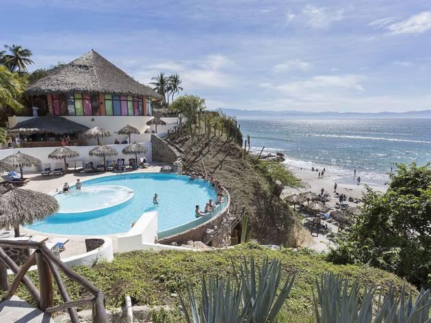Vista del mar desde el hotel Grand Palladium Vallarta Resorts & Spa
