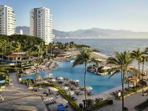 Vista del mar desde el hotel Marriot Puerto Vallarta Resort & Spa