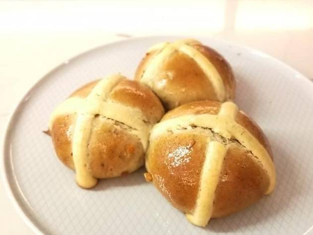 Miam Bakery hot cross buns easter