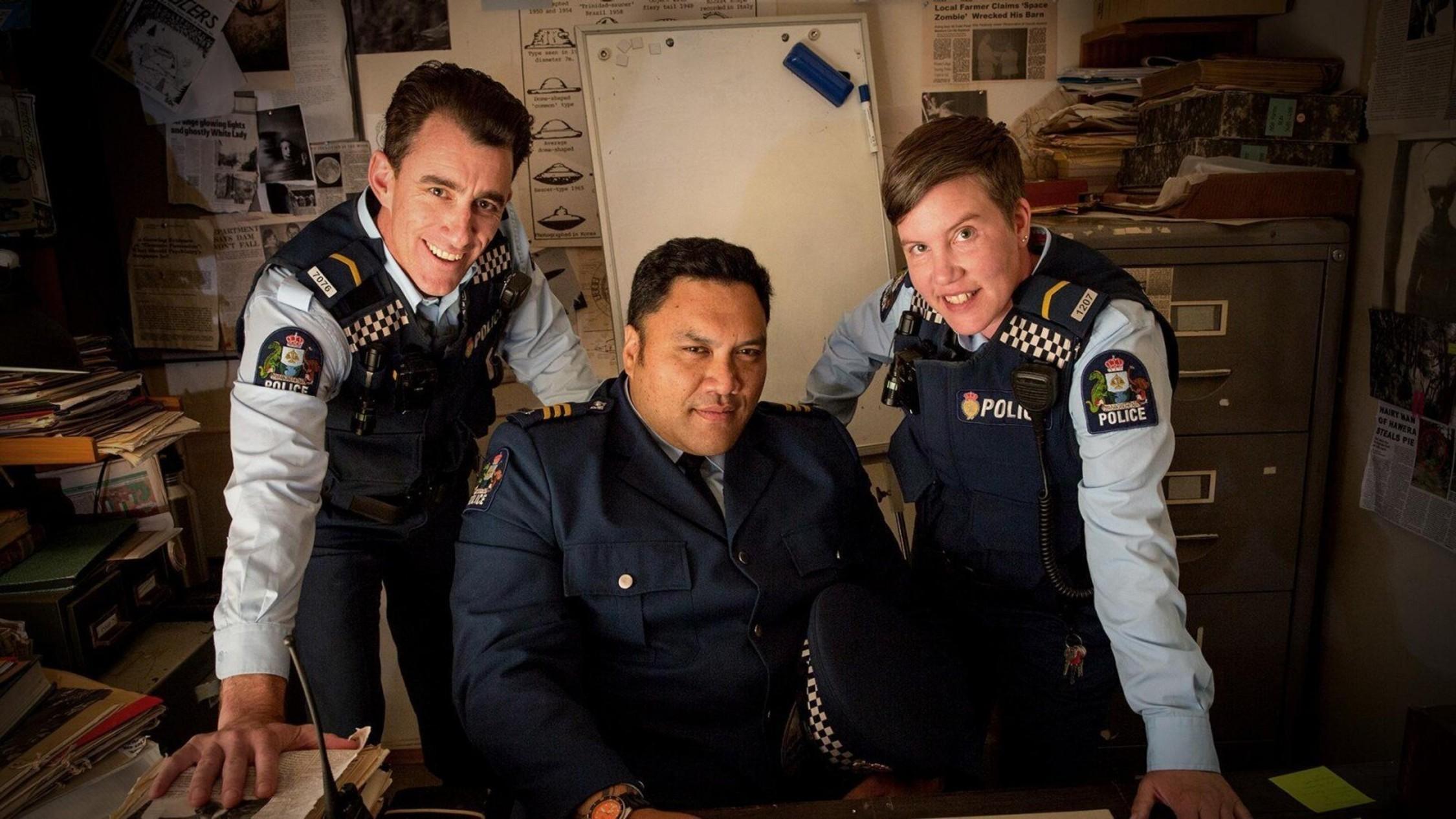 The Wellington Paranormal cops