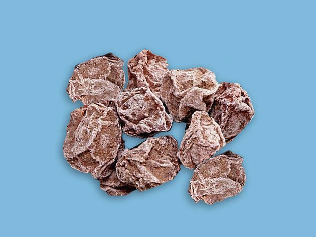 Salted dried plum
