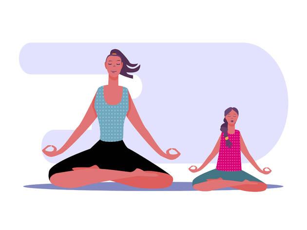 Yoga para crianças online