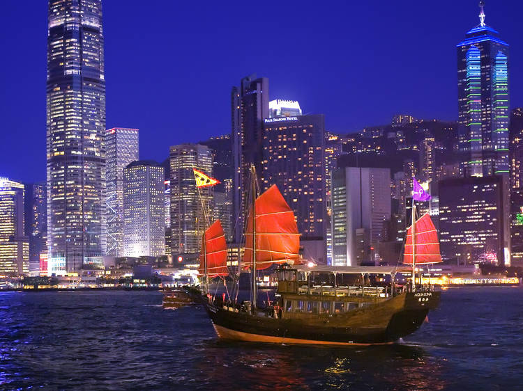 Cruise along the Victoria Harbour