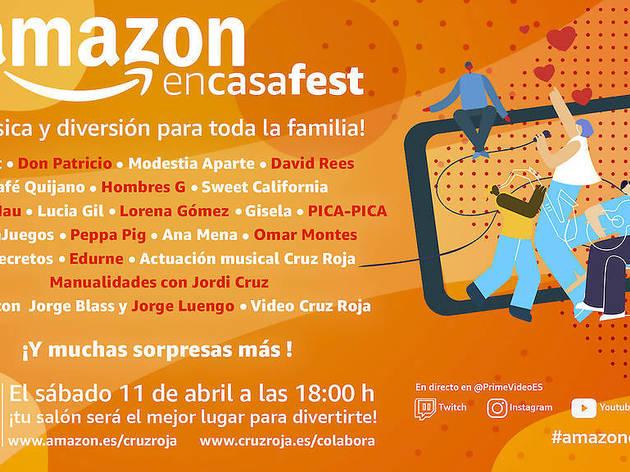 Amazon En Casa Fest