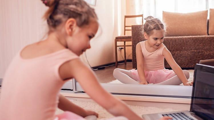 Clases de baile online para niños