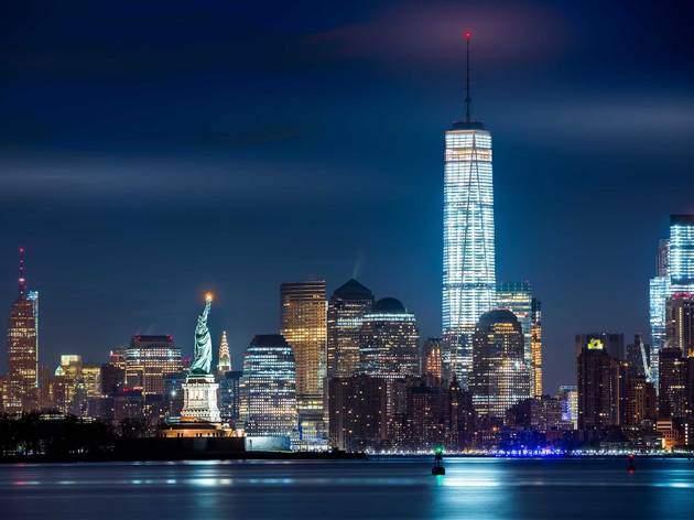 Empire State Building, NYC, One World Trade Center, Madison Square, The Intrepid Air & Space Museum, The Vessel, Hudson Yards, #LightItBlue, Andrew Cuomo