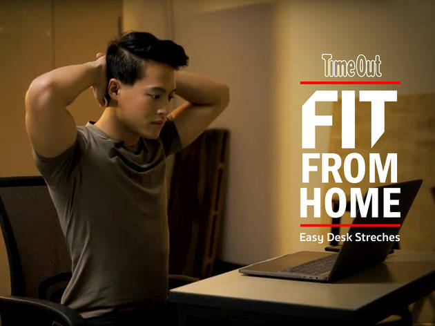 Fit From Home Desk Stretches