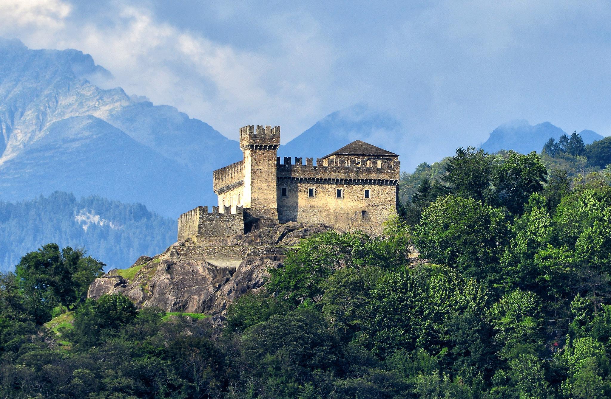 Castello Sasso Corbaro, Castles of Bellinzona, Ticino