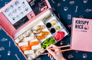 Krispy Rice sushi delivery