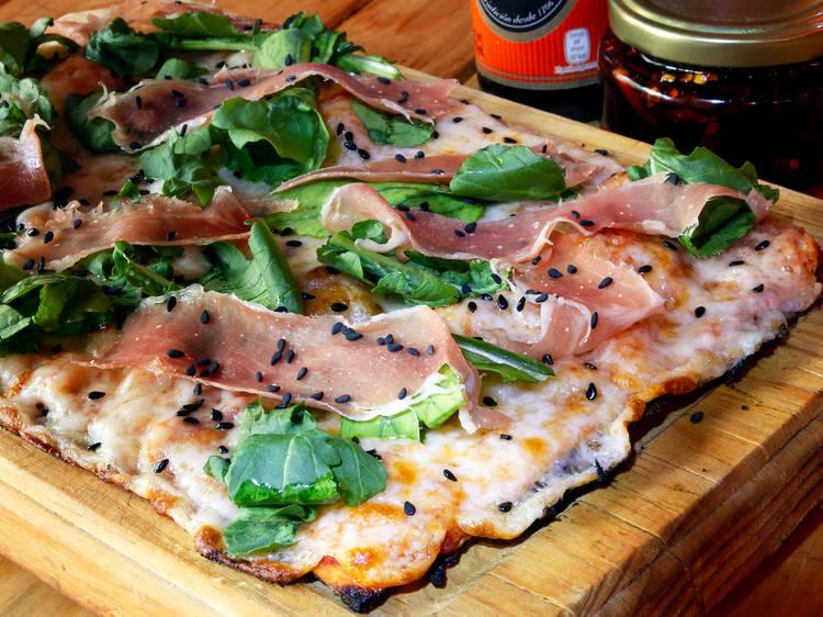 Kit para hacer pizza en casa de Roca Negra