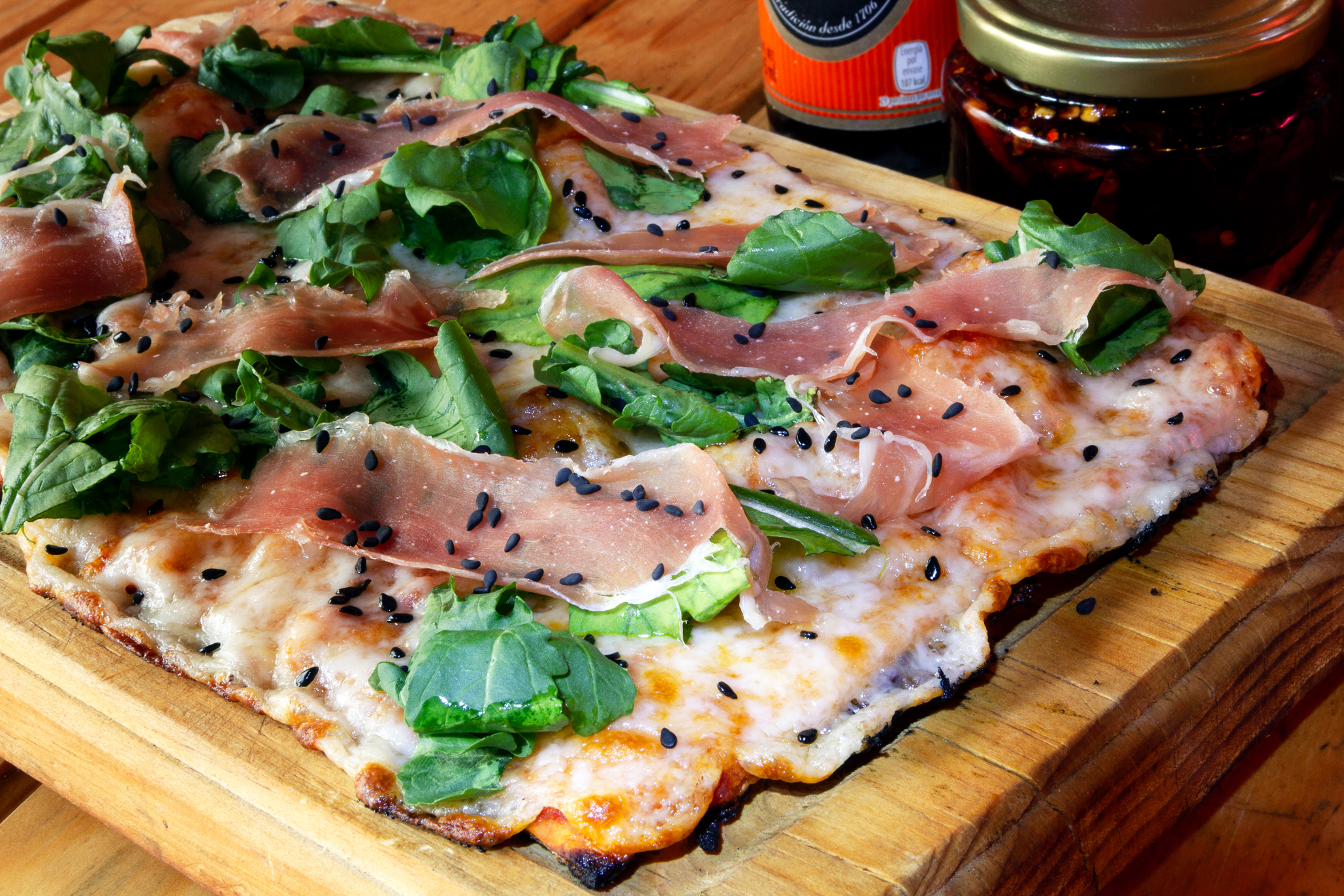 pizza cuadrada