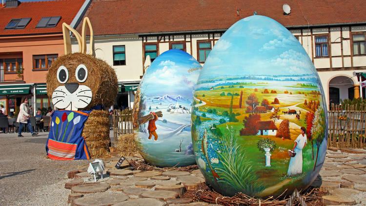 Easter eggs, Koprivnica