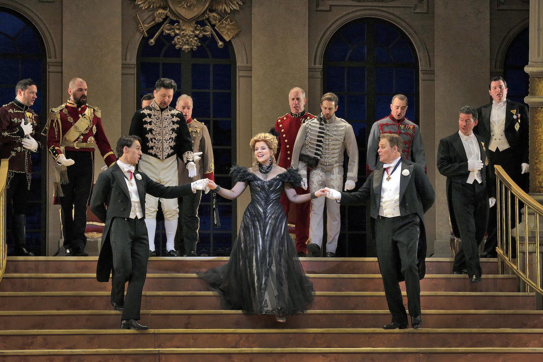 Renée Fleming in The Merry Widow at the Metropolitan Opera