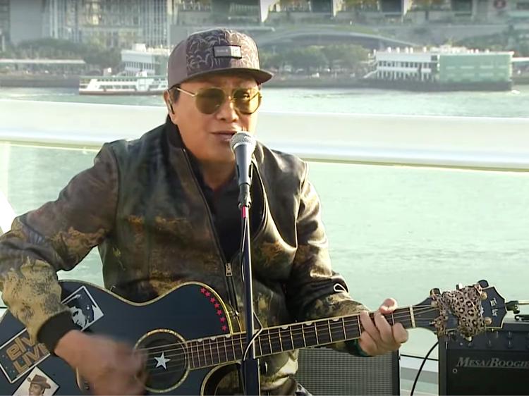 Canto-pop legend Sam Hui's livestream concert