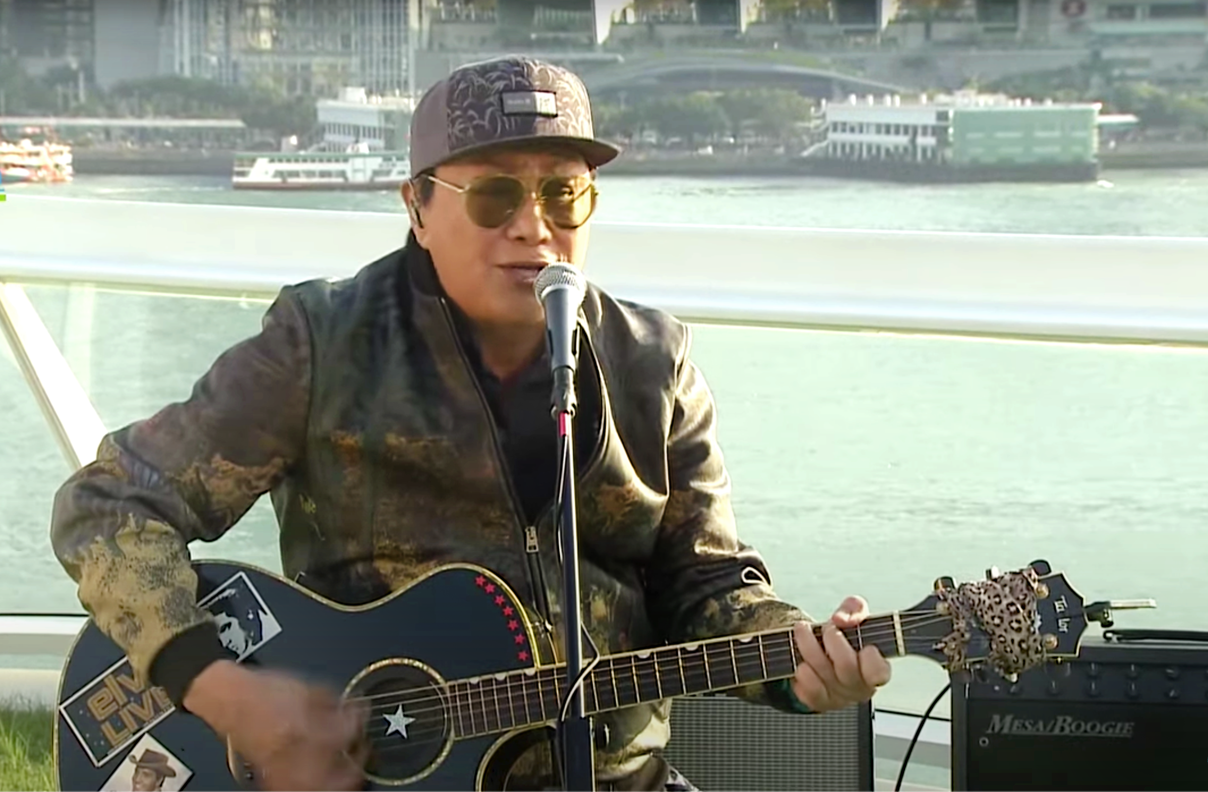 Millions tuned in to watch Canto-pop legend Sam Hui's livestream concert
