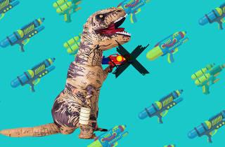 Dinosaur Songkran