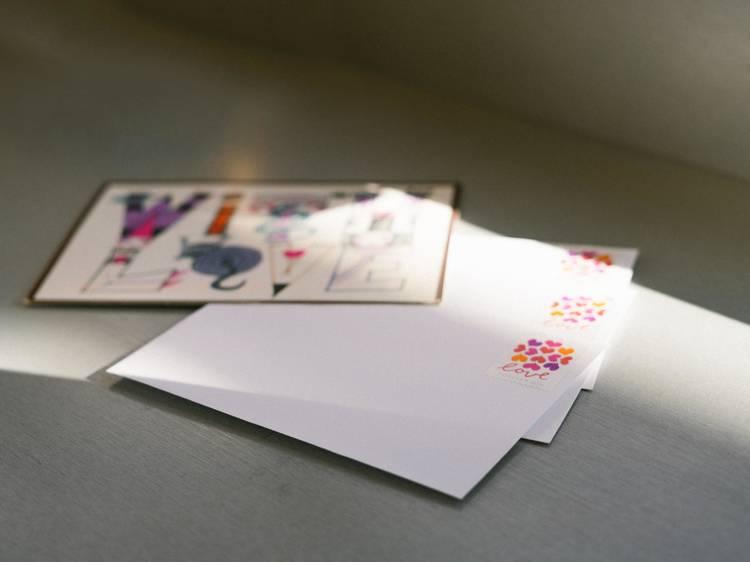 Dia 22: Fazer e escrever um cartão para os avós