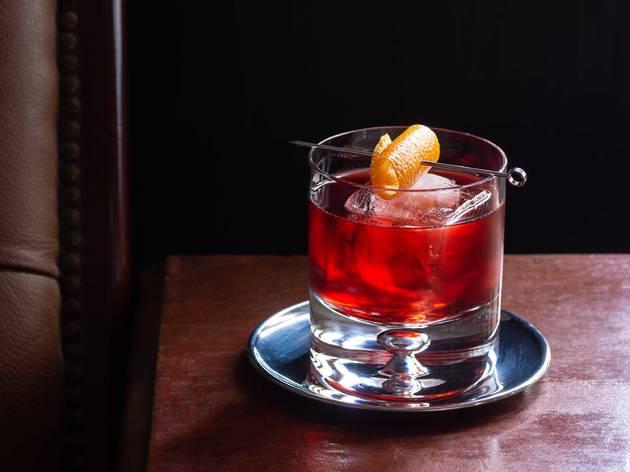 negroni, cocktail, drink, bar, shutterstock