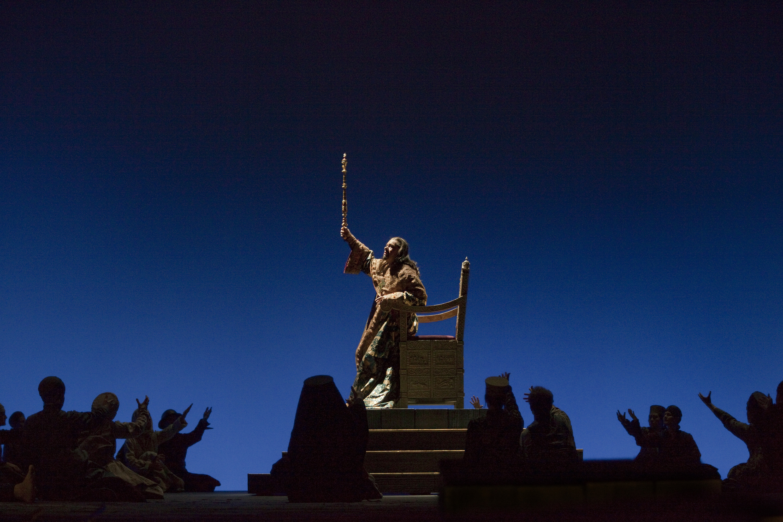 René Pape in Boris Godunov at the Metropolitan Opera