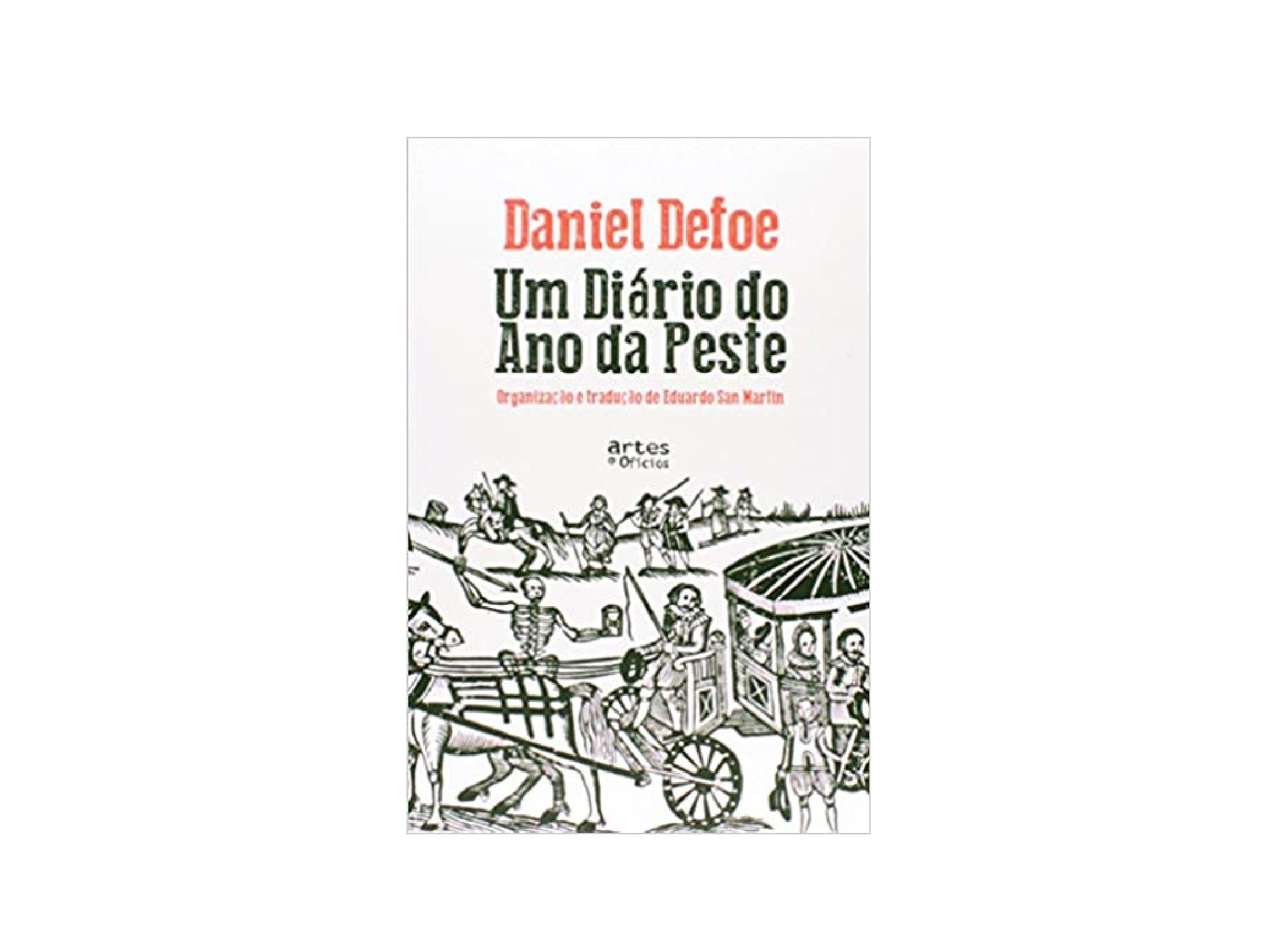 Livro, Um Diário do Ano da Pesta, Daniel Dafoe