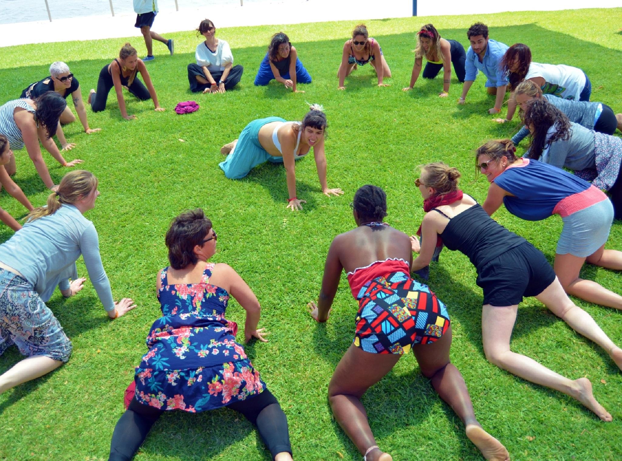 Exercício, Aulas ao Ar Livre, Raba Power
