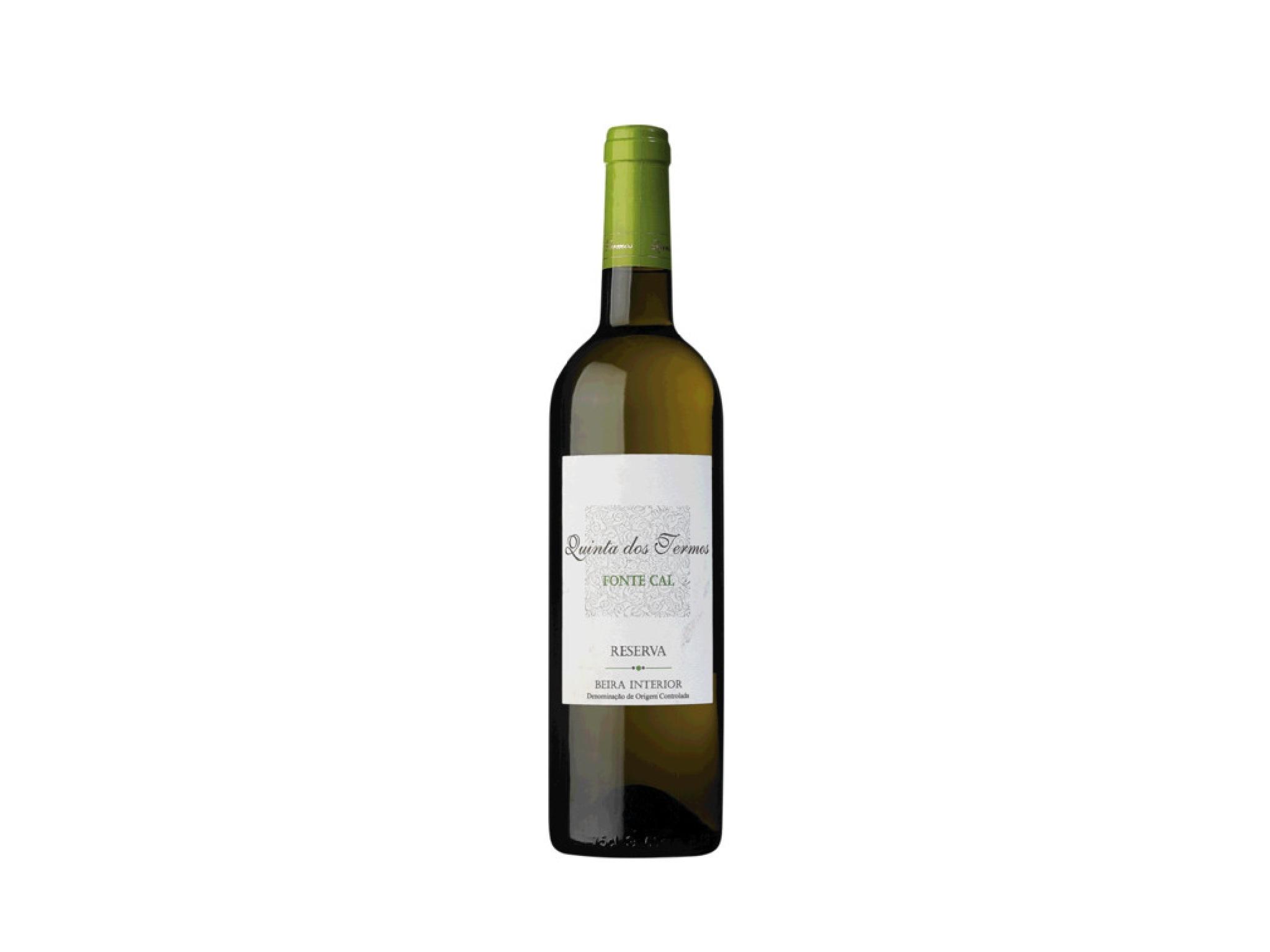 Vinho, Quinta dos Termos Fonte Cal Reserva Branco 2019, Beira Interior