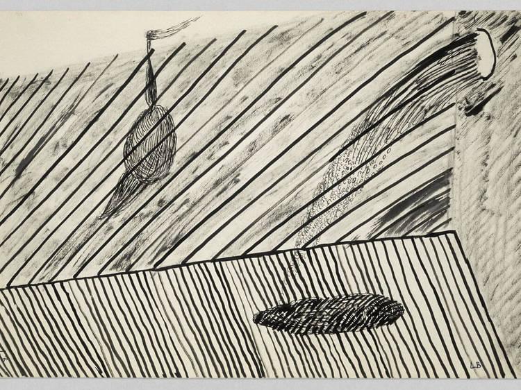 Louise Bourgeois. Drawings, 1947-2017 na Hauser & Wirth, Nova Iorque
