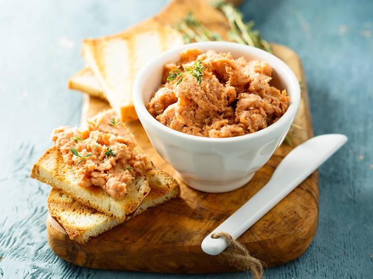 Receta con 3 ingredientes: ensalada de atún ahumado