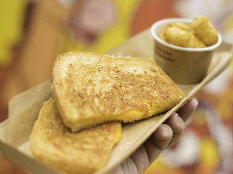 Disney World's grilled three-cheese sandwich