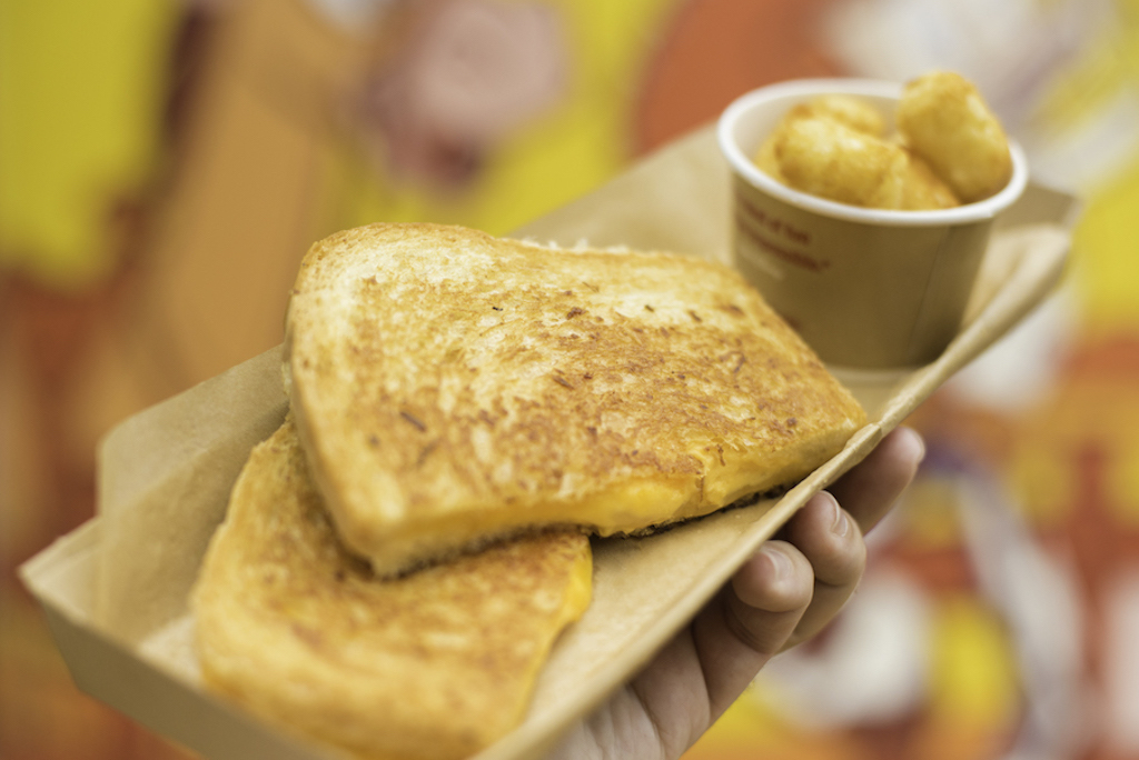 Grilled Cheese sandwich at Disney
