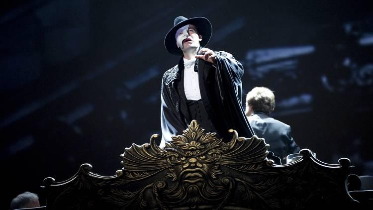 A still from the Phantom of the Opera